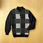 Checkerboard Sweater by Steve Harvey
