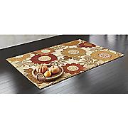 sunny flower rug