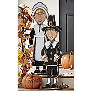 priscilla and john pilgrim figurines