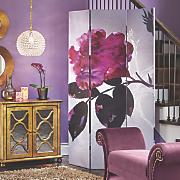 Flower Canvas Art Screen