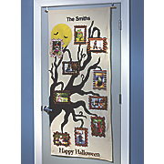 halloween photo door hanging