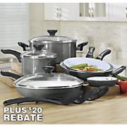 12-Piece Purecook Cookware Set with by Farberware