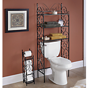 scrolled metal bathroom furniture