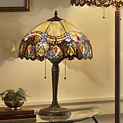 haverhill stained glass table lamp 19
