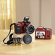 point and shoot 16 mp digital camera with 30x zoom by fuji