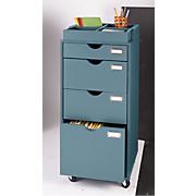 4 drawer rolling filing cabinet
