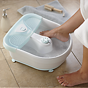 foot spa with bubbles heat