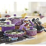 Ginny's Brand 22-Piece Dotted Cookware