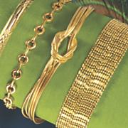 multi chain knot bracelet