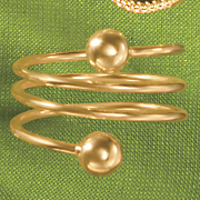 coil ball ring