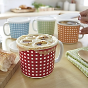 Set of 4 Cups with Lids