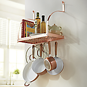 Metallic Pot Rack