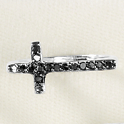 black diamond horizontal cross band
