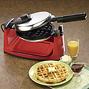 chef tested flip waffle maker by montgomery ward