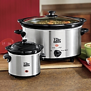 5-Qt. Slow Cooker with Bonus Dipper by Elite