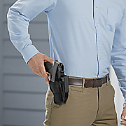 dual purpose  ambidextrous hip holster