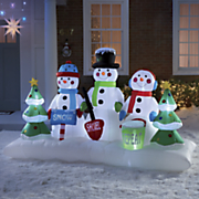 snow shovel repeat trio inflatable