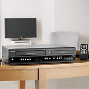 dvd vhs recorder and player by funai