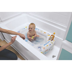 secure transitions baby tub