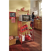 Rooster Microwave Cart