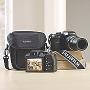 16 MP Digital Camera Bundle by Fuji
