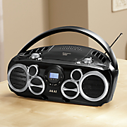 cd boombox with am fm radio and bluetooth by akai