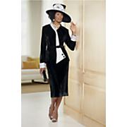 Bernina Velvet Jacket Dress