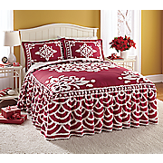 Alana Chenille Bedspread and Sham