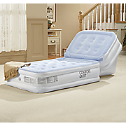 airbed with adjustable backrest