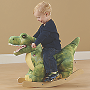 plush dinosaur rocker