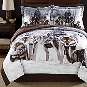 shadow wolf comforter set