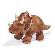 giant plush triceratops
