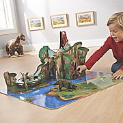 Wooden Dinosaur Habitat