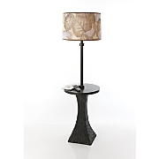 Leaf Shade Lamp Table