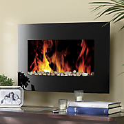 electric wall fireplace