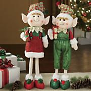 standing elves