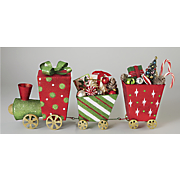 3-Piece Glitter Train Set