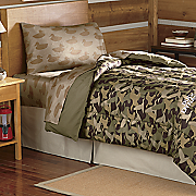 Duck Dynasty Comforter and Sheet Set