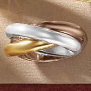 Nano Diamond Resin Tri-Color Triple Band