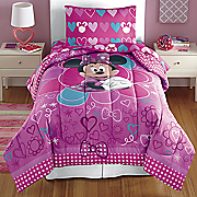 Minnie Bowtique Comforter and Sheet Sets