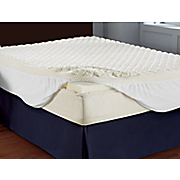 puff knit mattress topper from comforpedic by beautyrest