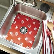 snowflake sink mat   strainer