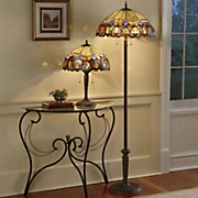 haverhill stained glass floor lamp 4