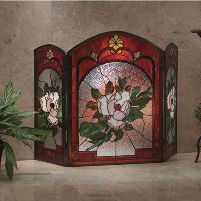 Magnolia Fireplace Screen