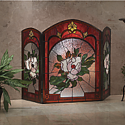 magnolia fireplace screen 91