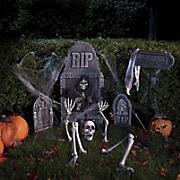 12 pc  spooky cemetery set