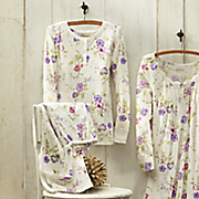 2 pc garden stroll pj set