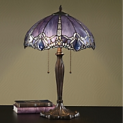 Iridescent Tiffany-Style Lamp