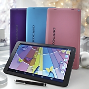 Quad-Core Tablet Bundle with Android 4.4 and Keyboard Case by Kocaso