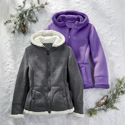 Sherpa Trim Jacket
